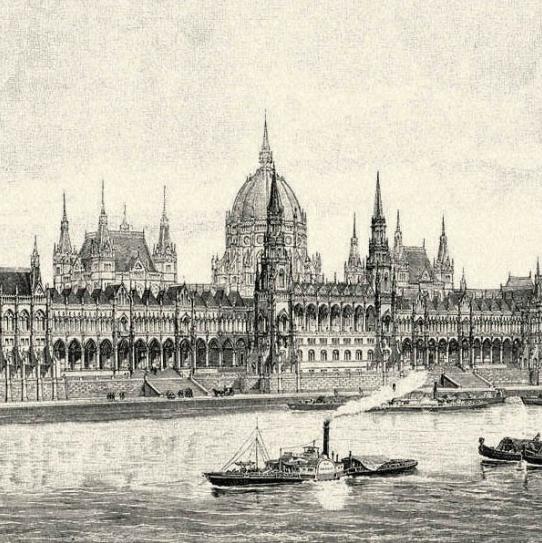 Budapest Parliament 1902
