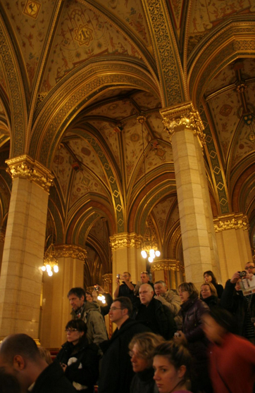 Guided tour Budapest Parliament