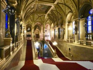 Budapest Hungarian Parliament Grand Staircase